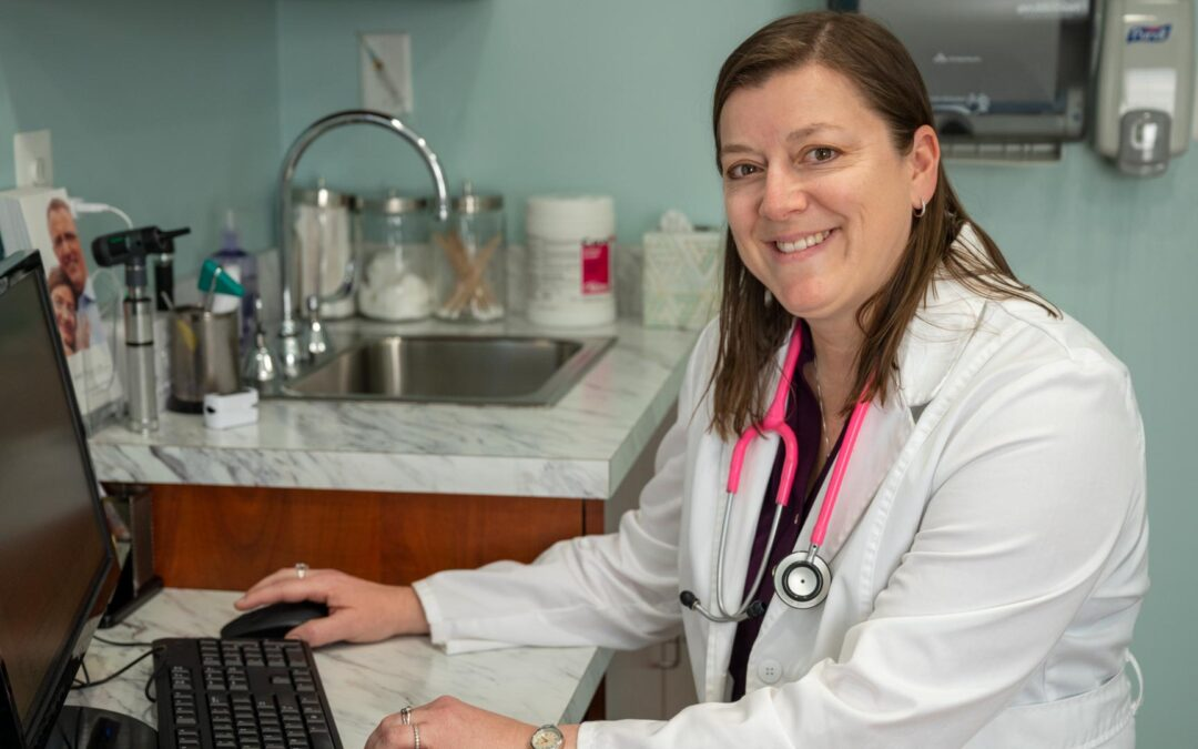 Dr. Lynch Mentors A New Family Nurse Practitioner