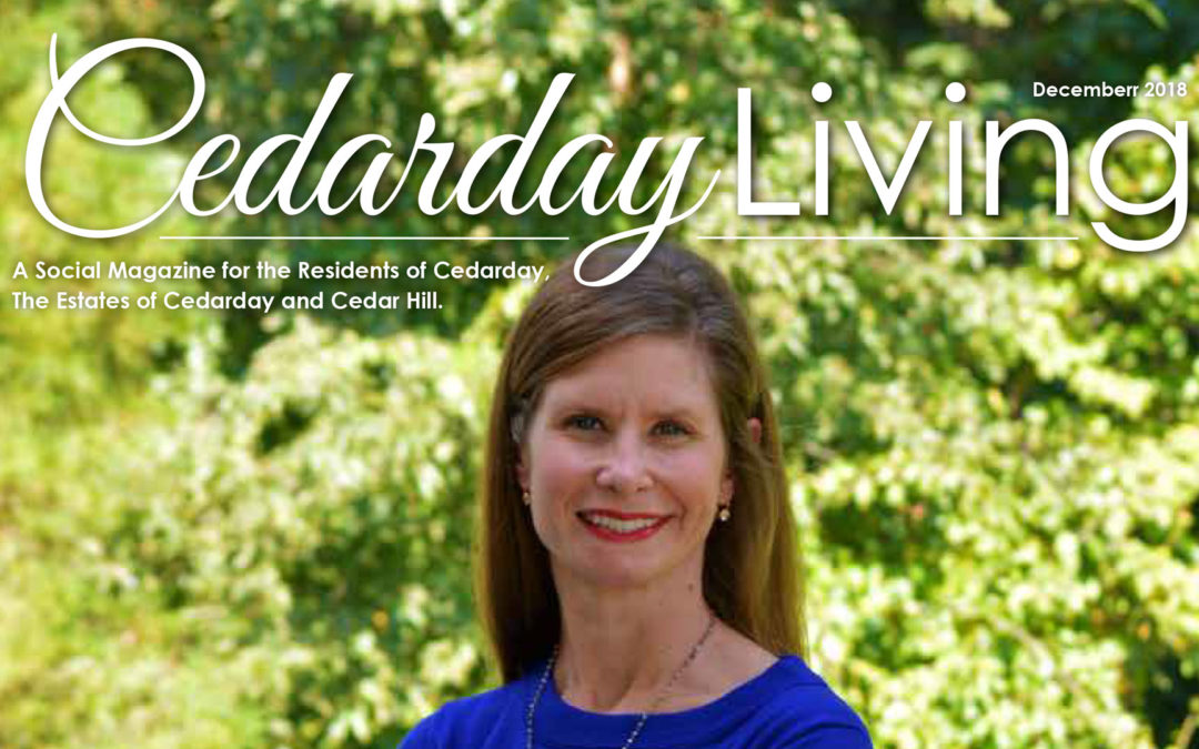 Dr. Kendal E. O'Hare as featured in Cedar Day Living